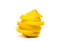 Yellow lemon isolated Royalty Free Stock Image
