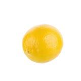 yellow lemon isolated on over white background Stock Image