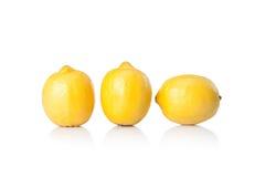 Yellow lemon Royalty Free Stock Photography