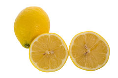 Yellow Lemon Stock Photos