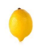 Yellow Lemon  on the white background Stock Image