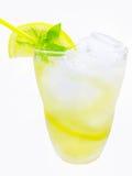 Yellow lemonade Royalty Free Stock Image