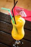 Yellow lemonade Stock Photo