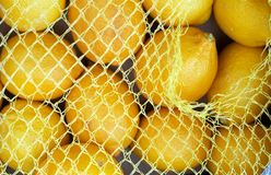 Yellow lemons Royalty Free Stock Photos