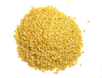Yellow Lentil Royalty Free Stock Photos