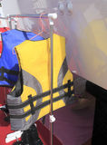 Yellow life jacket Royalty Free Stock Image
