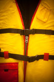 Yellow life vest Royalty Free Stock Photos