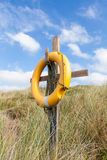 Yellow Lifebuoy Royalty Free Stock Images