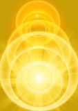 Yellow light Stock Photography
