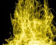 Yellow Light Art Royalty Free Stock Photography