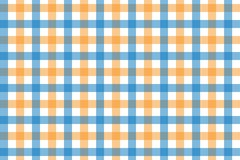 Yellow and Light Blue Gingham pattern. Texture from rhombus/squares for - plaid, tablecloths, clothes, shirts, dresses, paper,. Bedding, blankets, quilts and royalty free illustration