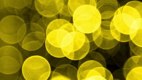 Yellow Light effects stock footage