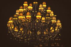 Yellow, Light Fixture, Lighting, Chandelier Royalty Free Stock Photography