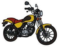 Yellow light motorbike Royalty Free Stock Photo