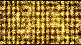 Yellow light wall shining abstract holiday background Stock Photography