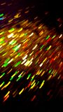 Yellow Light waves dancing around the atmosphere. Firework Embers Yellow Light Waves, motion blur. Fun Camera trick. Party Scene, Rush of energies royalty free stock photo