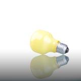 Yellow Lightbulb Stock Images