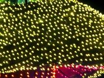 Yellow Lights Stock Image