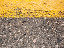 Yellow line Stock Photo