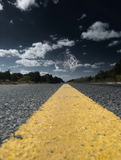 Yellow Line Royalty Free Stock Image