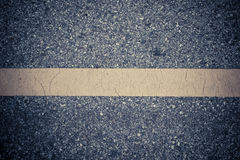 Yellow line background. Yellow line on the road texture Stock Photography