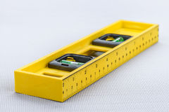Yellow line level. For repairs Royalty Free Stock Images