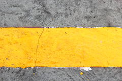 Yellow line Stock Image