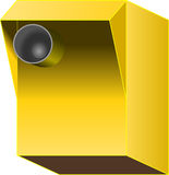 Yellow, Line, Product Design, Angle stock photo