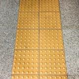 Yellow line Stock Photography