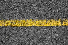 Yellow Line in Road Stock Photos