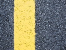 Yellow line sign Royalty Free Stock Image