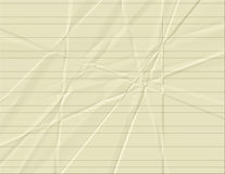 Yellow Lined Paper Royalty Free Stock Photography