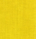 Yellow linen. Fabric - background or texture Royalty Free Stock Image