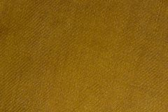Yellow linen fabric texture stock image