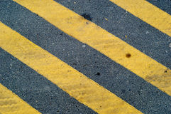 Yellow lines background road Royalty Free Stock Images