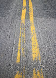 Yellow lines Stock Images