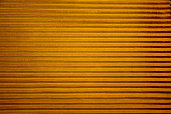 Yellow lines on concrete wall Stock Images