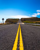 Yellow Lines Road Royalty Free Stock Photography