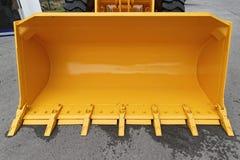 Yellow Loader Bucket Stock Image