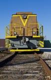 Yellow locomotive Royalty Free Stock Photography