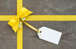 Yellow loop Royalty Free Stock Photo