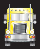 Yellow lorry Royalty Free Stock Images