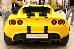 Yellow Lotus Elise Stock Photos