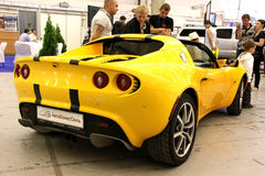 Yellow Lotus Elise Royalty Free Stock Images