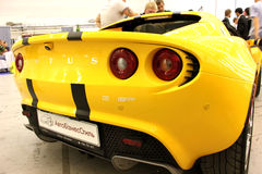 Yellow Lotus Elise Stock Images