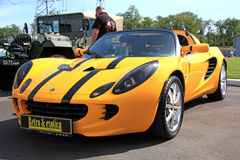Yellow Lotus Elise Royalty Free Stock Photo