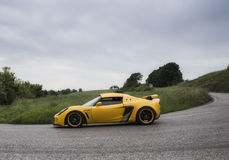 Yellow lotus elise Royalty Free Stock Image