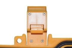 Yellow Luggage Locks.smile style Stock Photos