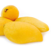 Yellow mango Stock Photography