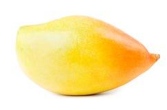 Yellow mango fruit isolated Royalty Free Stock Images